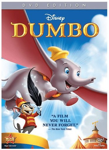 Dumbo Disney Film 63 percent off with free shipping, family movie night
