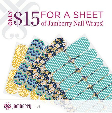 Jamberry how much do they cost, they are fifteen dollars per sheet plus buy 3 get 1 free, eash sheet will give you at least 2 pedicures and 2 manicures