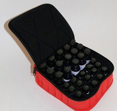 Essential Oils Carrying Case for oils bottles like doterra and young living, soft case with keep your bottles safe, aromatherapy oils case