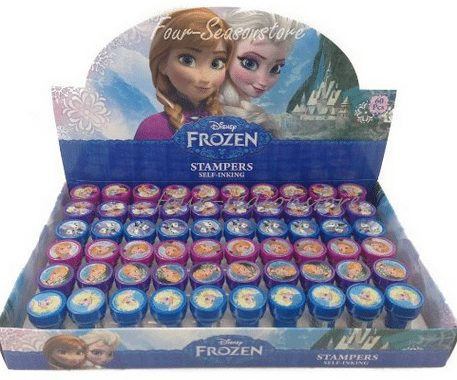 Frozen Birthday Party Favor Stamps