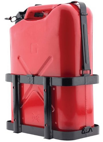 Jerry gas can Utility Trail holder