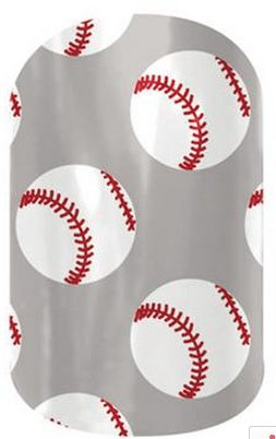 jamberry nailart BASEBALL team wraps, easy way to support your favorite player, Team spirit, Opening Day MLB