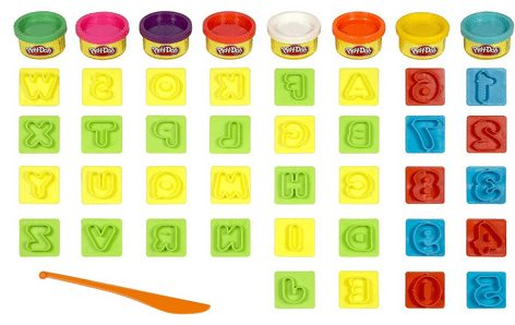 Play-Doh Numbers and Letters Fun Art Toy