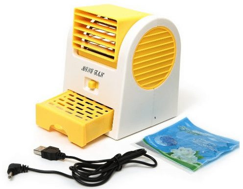 USB air conditioner battery powered