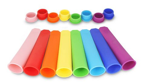 Silicone Ice Pop-Popsicle Molds ~ Flexible and Durable