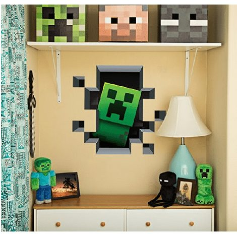Minecraft Wall Clings