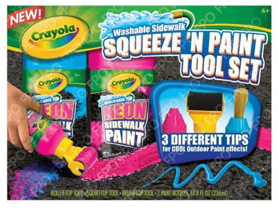 Chalk Squeeze and Paint