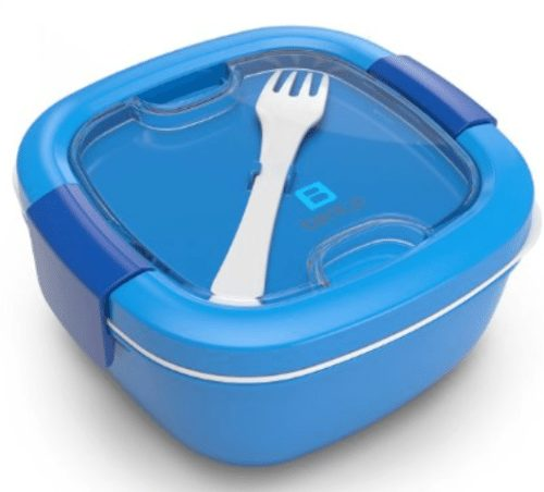 Bentgo Salad - Conveniently Take Salads and Other Snacks On-the-go - Eco-Friendly & BPA-Free Lunch Container