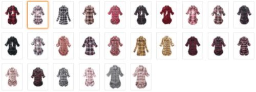 womens-mid-long-style-roll-up-sleeve-plaid-shirt-colors