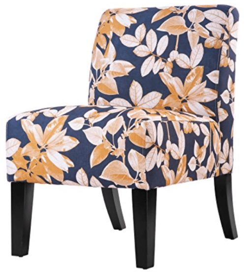 merax-fabric-armless-contemporary-accent-chair-leaf-print-fabric-chair-dining-room-chair-with-wood-legs