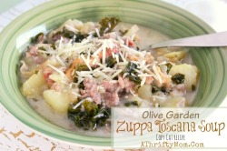 Olive Garden Zuppa Toscana Soup Recipe, Copy Cat recipe that you can make at home for a fraction of the price #Soup, #CopyCatRecipe, #OliveGarden, #Kale