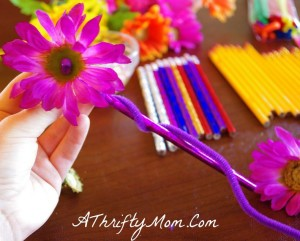 Flower Pencil DIY9