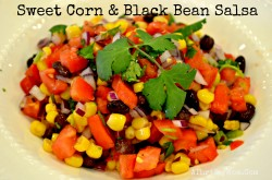 sweet corn and black bean salsa recipe