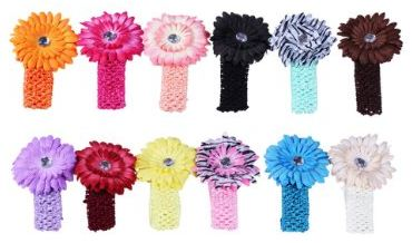 2012 Christmas Gifts flower headbands