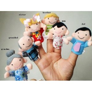 family puppets free shipping