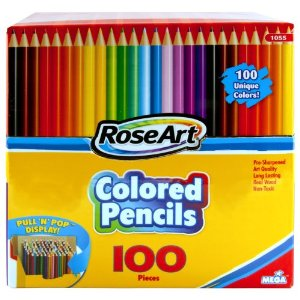 color pencil 100 set with free shipping