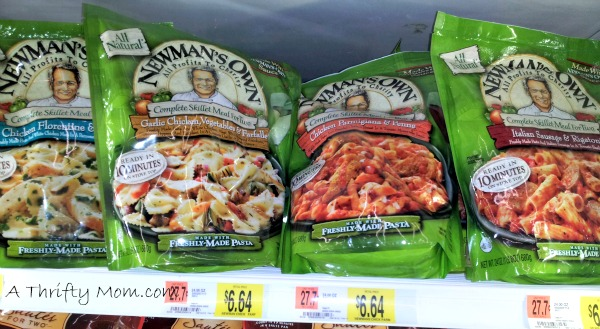 Newman's Own Skillet meal ~ Walmart