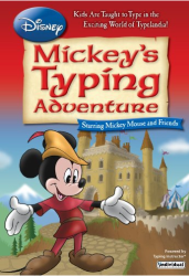 Disney Mickey Mouse Typing Adventure learn to type