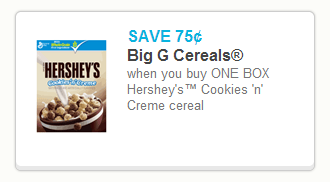 hersheys cookies and cream cereal coupon