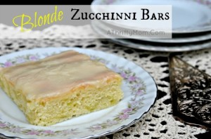 blonde zucchini bar recipe
