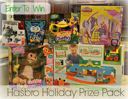 Hasbro Holiday Prize Pack, enter to win these amazing toys to put under your tree Christmas 2013