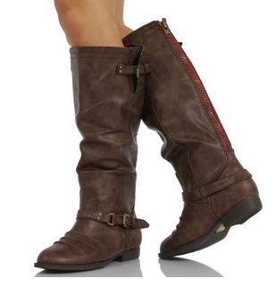 casual boots brown