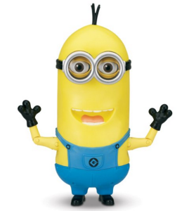 Despicable Me 2 Minion Tim The Singing Action Figure