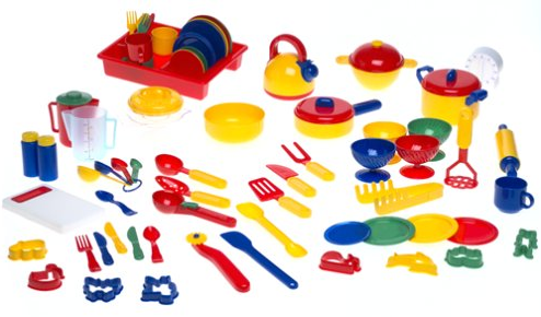 learning toys kitchen tools
