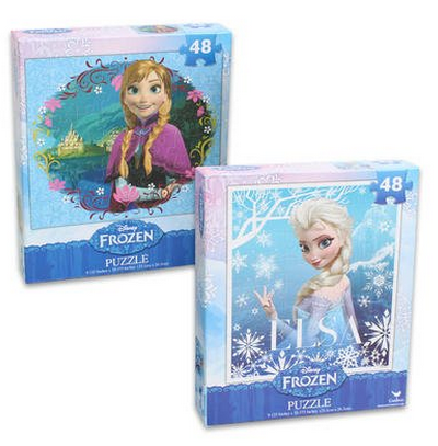 Disney's FROZEN set of two puzzles
