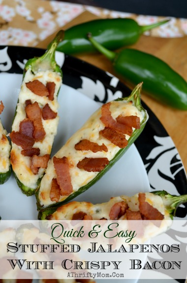 Stuffed Jalapenos With Crispy Bacon, quick and easy recipe, party Recipes, Superbowl Recipes