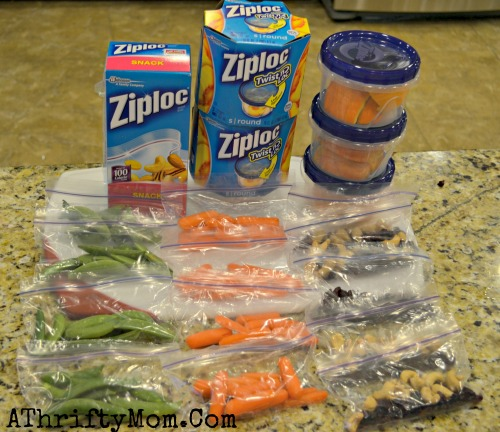 Ziploc Fresh, Feats of Fresh ideas to help your family make healthy snack options