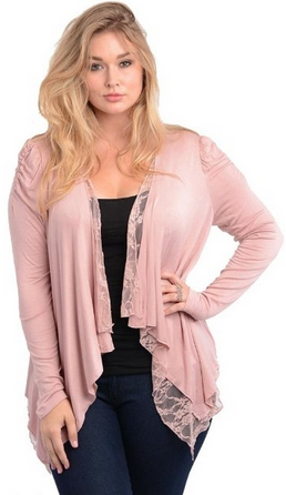 plus size lace jacket, love this it is so pretty