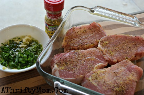 Baked Pork Chop recipe, Lime and Chive Baked Pork Chop, Pork Recipe, #PorkRecipe, #pork, #easyDinnerIdea