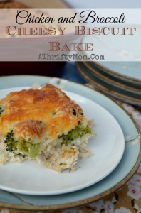 Chicken and Broccoli Cheesy Biscuit Bake, Made in 4 simple steps and taste great!