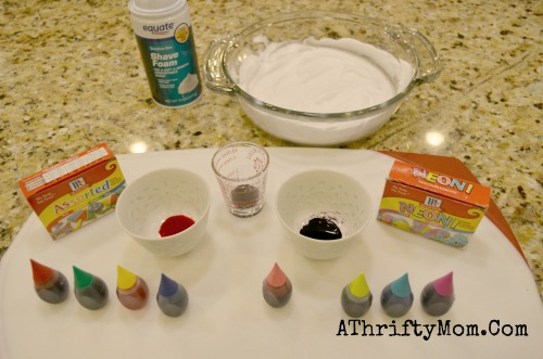 How to dye eggs with shaving cream, Shaving Cream SWIRL eggs, Easter Eggs, #Easter, How to make swirled easter eggs