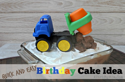 Easy Boy Birthday Cake Ideas, Boys Birthday cake dumptruck theme #Cake, #BoysBirthday,