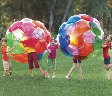 GIANT yard ball for kids, and it lights up #OutdoorToys #Kids, #Summer,