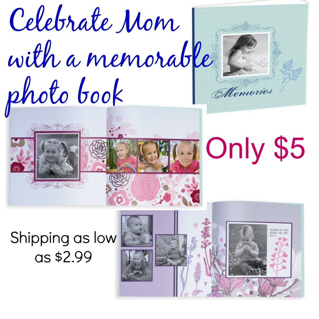 Celebrate mom photo book, #Mothersday, #Memories, #mother ~ A Thrifty Mom