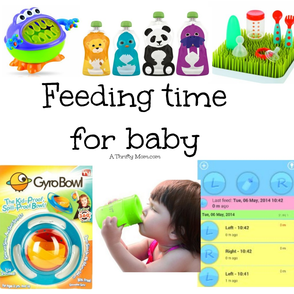 Feeding time for baby