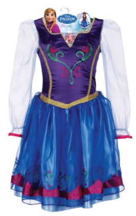 Frozen Dress Elsa and Anna,  Dress up costume for Frozen #Frozen, #Elsa, #Anna