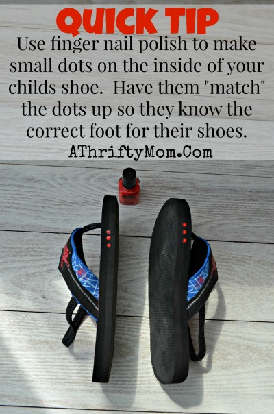 Help your child learn the correct foot to put their shoe on with this quick tip, preschool tips #Parenting, #Tips, #Preschool, #Shoes