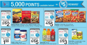 5000 points = to $5 at Walgreens ends 6-7