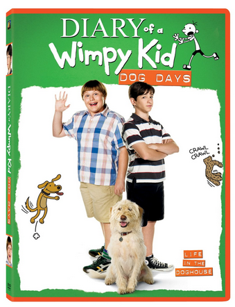 Diary of a Wimpy Kid Dog Days DVD