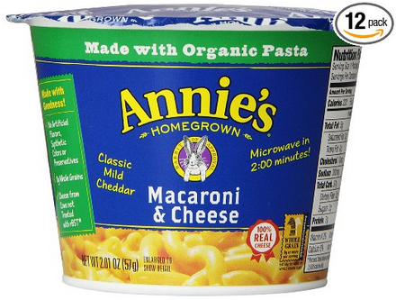 Annies Mac and Cheese Microwavable Cup