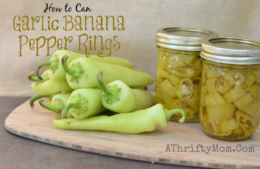 How to can Garlic Banana Peppers, #Canning, #Garden, #peppers