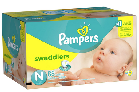 Pampers Swaddlers Diapers Coupon Deal low as $18.49 Shipped Right To Your Door! #Diapers #BabyCoupons