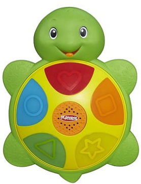Playskool Shapes and colors turtle Toy, giveaway