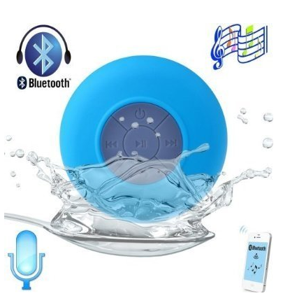 Waterproof Portable Wireless Bluetooth Mini Speaker - Perfect for singing in the shower, car, kitchen, and more! I know someone who needs this for Christmas