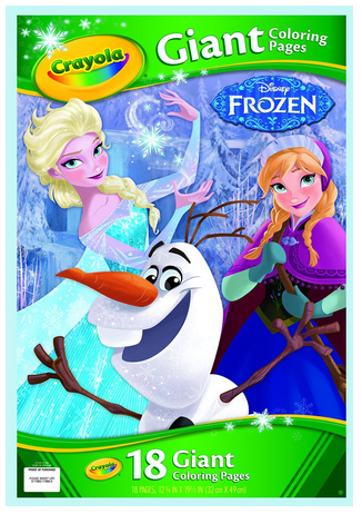 Crayola Frozen Giant Coloring Pages #Frozen #GiftForKids #FrozenColoringPages