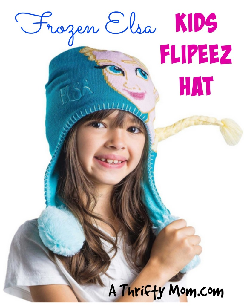 Frozen Elsa Kids Flipeez Action Hat
